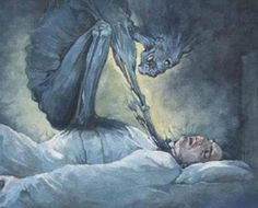 Myths about Sleep Paralysis being demons in your sleep.