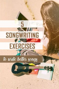 5 songwriting exercises These exercises will help you improve your songwriting a lot. Ukulele Songs, Music Guitar, Music Lyrics, Music Quotes, Film Quotes, Violin, Writing Lyrics, Music Writing, Writing Tips