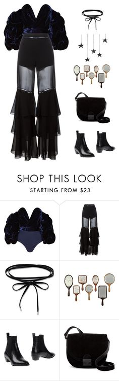 """""""Untitled #3622"""" by lbenigni ❤ liked on Polyvore featuring Johanna Ortiz, Alberta Ferretti, Marc by Marc Jacobs and Loeffler Randall"""
