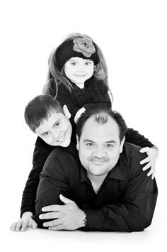 Kevin Leo and kids