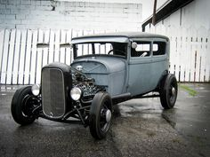 1928 Ford Model A Tudor - Millworks – Millworks Hot Rod