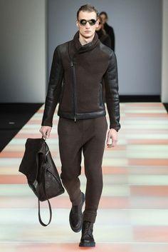 Emporio Armani Fall 2015 Menswear - Collection - Gallery - Style.com