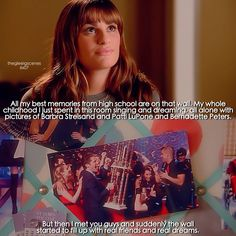 "#Glee 6x07 ""Transitioning"" - Rachel                                                                                                                                                     More"