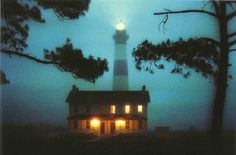 After Sunset - Bodie Island Lighthouse - Outer Banks (Nags Head) NC