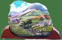 painted stones - Google Search