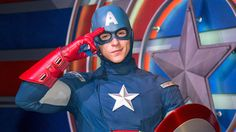 Beginning April 3, 2016 at Disneyland Resort, Captain America will make appearances at Disney California Adventure Park. And, also swinging in to join him on his latest mission in Hollywood Land will be everyone's favorite web slinger, Spider-Man. Request your vacation quote today!! http://www.emailmeform.com/builder/form/U3oA9Fid7e2094NXBhee #DisneySide #WishWithCrystal