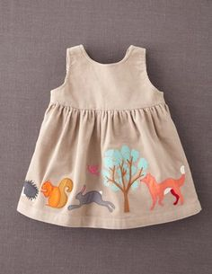 I've spotted this @BodenClothing Appliqué Apron Pinnie Oat/Woodland Appliqué