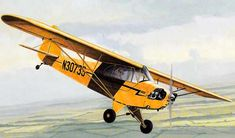 The Piper Cub provate light aircraft Paper Airplane Models, Model Airplanes, Paper Models, Piper J3 Cub, Piper Aircraft, Bush Plane, United Airlines, Fighter Jets, Planes
