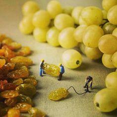 Creatività con il cibo