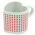 Heat Changing Love Mug - What better way to reveal a romantic message than to add hot liquid to a heat-changing mug?