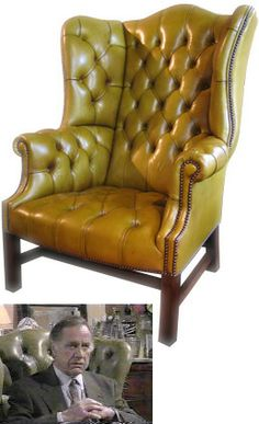 The Special High Back Georgian Leather Wing Chair with Straight Legs Game Room Chairs, Movie Chairs, Green Leather Chair, Leather Club Chairs, Chesterfield Chair, Wingback Chair, Armchair, White Desk Chair, English Country Decor