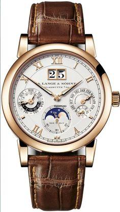 A. Lange & Söhne [NEW] Langematik Perpetual Calendar 310.032E (Retail:EUR 75.100) ~ SPECIAL OFFER: HK$440,000. #men'sjewelry