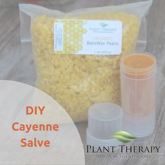 DIY CayenneSalve - I would add a little wintergreen essential oil to make it even more like the store-bought version.