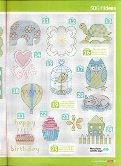 Gallery.ru / Фото #17 - Cross Stitch Crazy 167 сентябрь 2012 + приложение Summer fun - tymannost