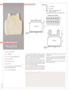Nube Nº 013 - Melina Tejidos - Picasa Web Albums Baby Knitting Patterns, Baby Patterns, Crochet For Kids, Crochet Baby, Diy Crafts Knitting, Baby Jumper, Vest Pattern, Baby Sweaters, Baby Dress