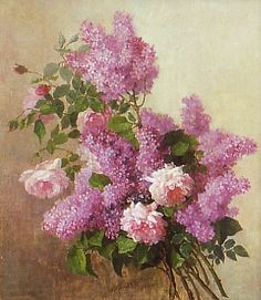 Alice Chittenden Lilacs Late 19th - early 20th century