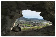 Inside Peers Cave, overlooking Fish Hoek by Ian Junor - Cape Town The Dunes, Beautiful Places, Amazing Places, Cape Town, Live, The Great Outdoors, Places To See, South Africa, Trip Advisor