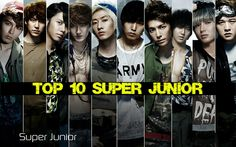My Top 10 Favourite Super Junior songs!