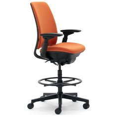 Supported just like the steelcase amia chair the amia drafting chair