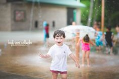Splash Pad Fun Baton Rouge, LA Child and Family Photographer - Leigh Anne Wilbanks Photography