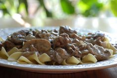 Aldi Recipes: Ground Beef Stroganoff