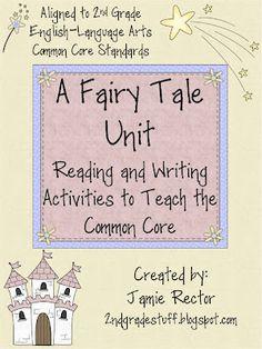 2nd Grade Stuff: Fairy Tale Common Core Unit and a FREEBIE!