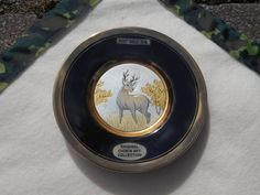Original Art of Chokin 24 kt. gold etched stag by DanArsenault