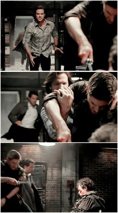 """""""Dean! Stop."""" - 10x10 The Hunter Games"""