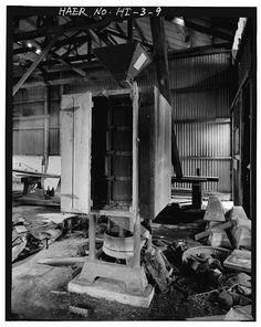 9.  RICE POLISHER - Haraguchi Rice Mill, Hanalei River, Hanalei, Kauai County, HI