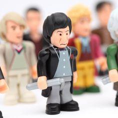 Doctor Who Mini Figure Set of 11 Doctors | ThinkGeek $39.99