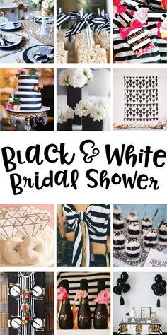 Black & White Bridal