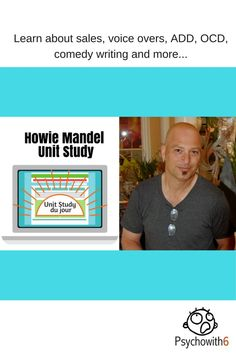 Howie Mandel Unit Study - http://psychowith6.com/howie-mandel-unit-study/