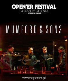 Mumford & Sons kolejnym headlinerem Open'era!