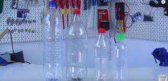 5 Idéias Criativas para reutilizar garrafas de plástico