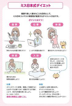 ミス日本式ダイエットをおさらいします♥ | コミュ障でちょいオタの私が準ミス日本になるまで