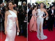 """La alfombra """"blanca"""" de Cannes 2014. www.webnovias.com"""