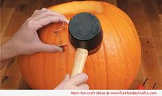 Cookie Cutter Pumpkin Carving How To - Fun Holiday Crafts