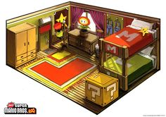 Super Mario RPG Concept by ~funkychinaman on deviantART
