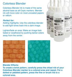 Copic Colorless Blender tips & techniques!