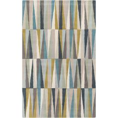 Kaili Light Gray 8 ft. x 11 ft. Indoor Area Rug