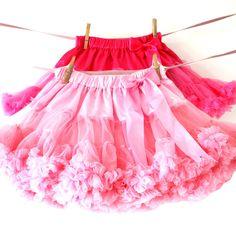 Rocket and bear ~ Swirly Birthday Skirt. *
