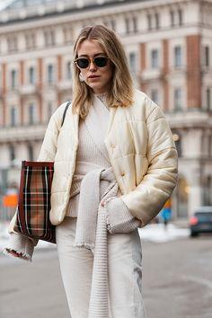 Streetstyle на Неделе моды в Стокгольме | Мода | STREETSTYLE | VOGUE