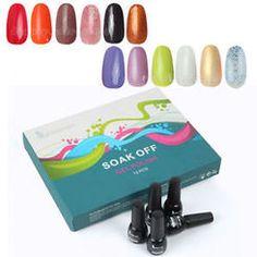 12 Bright colours UV soak Off Polish From MissLipLash Bright Colors, Colours, Soak Off Gel, Summer Colors, Nail Tech, Gel Polish, Nails, Lovers, Finger Nails