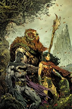 Liam Sharp To Write And Draw Brave And The Bold: Batman And Wonder Woman