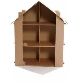 Imagínate las horas de diversión e historias que inventarían con la casa de muñecas de cartón http://pekaypeke.com/es/juguetes-de-carton/92-casa-de-munecas-de-carton.html