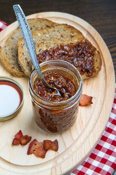Maple Bourbon Bacon Jam - (pure flavor heaven!) - Takes a little longer to make than the recipe indicates but it is well worth the time and effort.