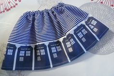 Baby  Dr Who Clothes Geek Baby Clothes Tadis Skirt by Roobys, £15.00