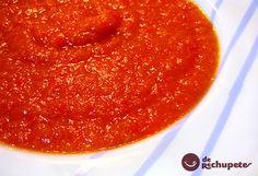 Os presento mi salsa de tomate, con la cantidad exacta de cada ingrediente, ni demasiada líquida ni muy compacta, con una proporción de acidez que no moleste pero que se note que es de tomate. Preparación paso a paso, foto, truquis y consejos
