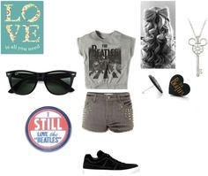 """The beatles"" by crystina-leigh on Polyvore"