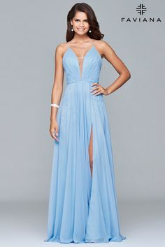Faviana prom dress style 7747 | Bella Jules Fashion Boutique | Designer Women's Clothing
